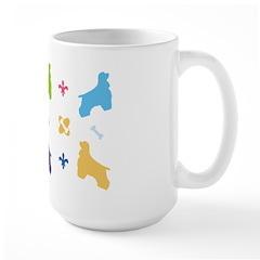 Cocker Spaniel Designer Large Mug
