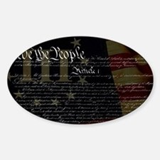 U.S. Outline - Constitution Decal
