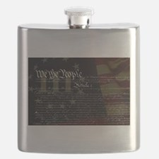 U.S. Outline - Constitution Flask
