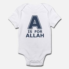 A is for Allah Onesie