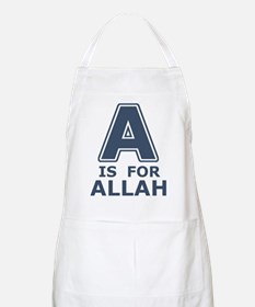 A is for Allah BBQ Apron