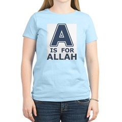 A is for Allah T-Shirt