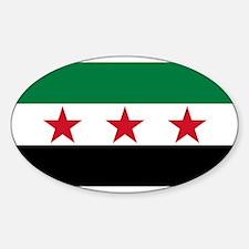 Free Syrian Republic Flag Decal