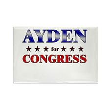 AYDEN for congress Rectangle Magnet