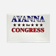 AYANNA for congress Rectangle Magnet