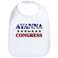 AYANNA for congress Bib
