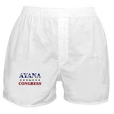 AYANA for congress Boxer Shorts