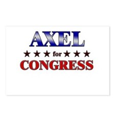 AXEL for congress Postcards (Package of 8)