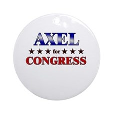 AXEL for congress Ornament (Round)