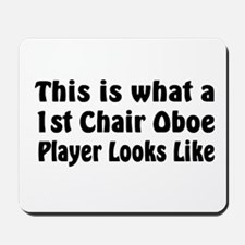 1st Chair Oboe Player Mousepad