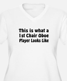 1st Chair Oboe Player T-Shirt