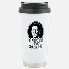 Funny Reagan president Travel Mug
