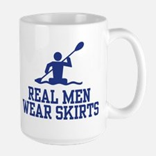 Real Men Wear Skirts Mugs