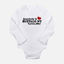 Unique Buffalo bulls Long Sleeve Infant Bodysuit