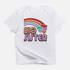 Unique Big sister Infant T-Shirt