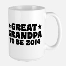 Great Grandpa To Be 2014 Mugs