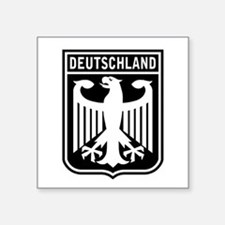 Deutschland Eagle Rectangle Sticker