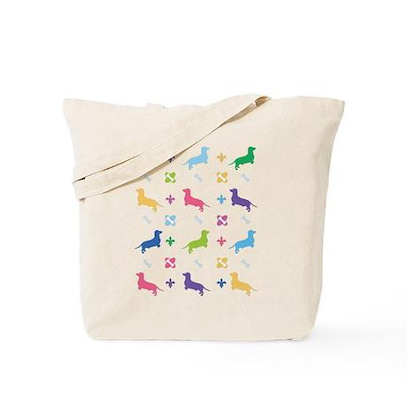 Dachshund Designer Tote Bag
