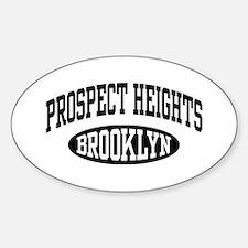 Prospect Heights Brooklyn Sticker (Oval)