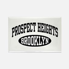 Prospect Heights Brooklyn Rectangle Magnet