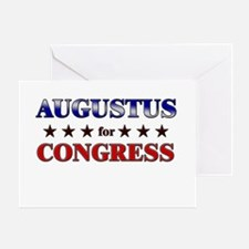 AUGUSTUS for congress Greeting Card