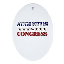 AUGUSTUS for congress Oval Ornament