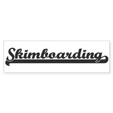 Skimboarding (sporty) Bumper Bumper Sticker
