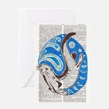 A Ring of Bright Water Greeting Cards