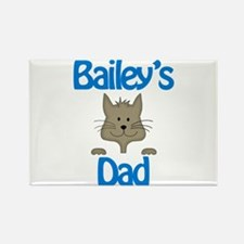Bailey's Dad Rectangle Magnet
