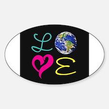 I Heart Earth Decal