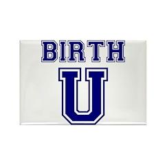 Birth U Rectangle Magnet (100 pack)