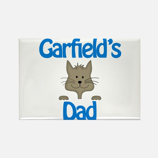 Garfield's Dad Rectangle Magnet