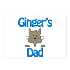 Ginger's Dad Postcards (Package of 8)
