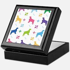 English Springer Spaniel Designer Keepsake Box
