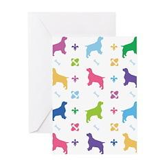 English Springer Spaniel Designer Greeting Card