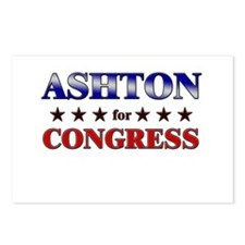ASHTON for congress Postcards (Package of 8)