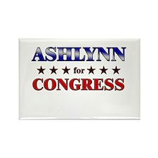 ASHLYNN for congress Rectangle Magnet
