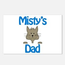 Misty's Dad Postcards (Package of 8)