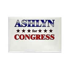 ASHLYN for congress Rectangle Magnet
