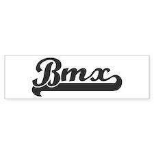 Bmx (sporty) Bumper Bumper Sticker