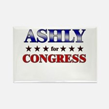 ASHLY for congress Rectangle Magnet