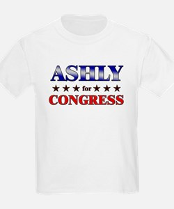 ASHLY for congress T-Shirt