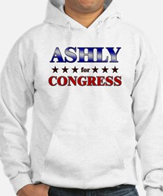 ASHLY for congress Hoodie
