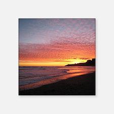 Sunset on Stinson Beach, New Year's Eve Sticker