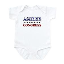 ASHLEE for congress Onesie