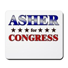 ASHER for congress Mousepad
