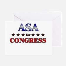 ASA for congress Greeting Card