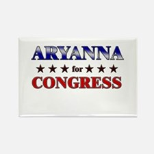 ARYANNA for congress Rectangle Magnet