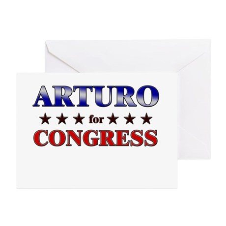 ARTURO for congress Greeting Cards (Pk of 20)