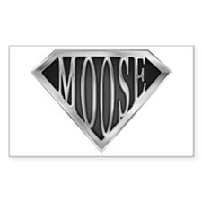 SuperMoose(metal) Rectangle Decal